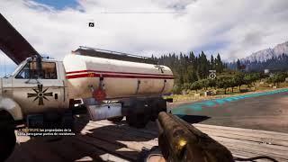 Gamer del cómic  juegando :V :Far Cry 5