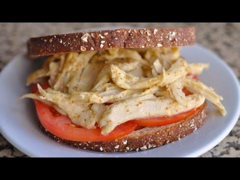 Mock Chicken Sandwich with Honey Mustard Dressing Recipe