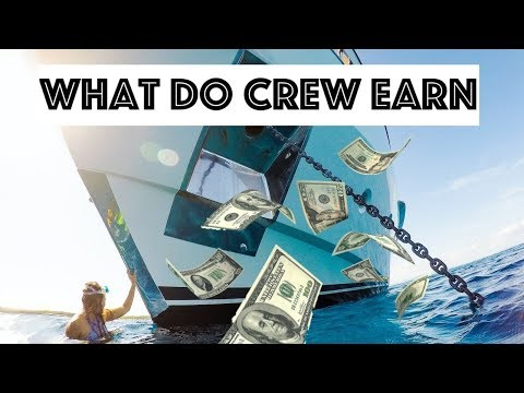 Super Yacht Crew Salary