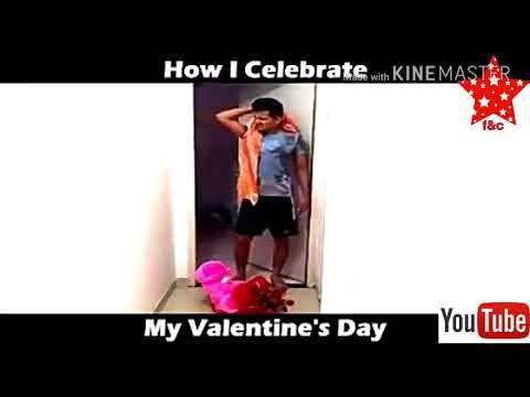 Single guys on valentine day😂😂😂