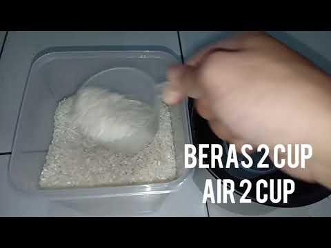 Cara Memasak Nasi Putih Menggunakan Rice Cooker.