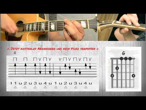 Casper - Hinterland-How to play I Akkorde I Chords - Tutorial - Guitar Lesson