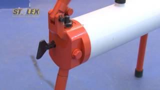 видео Трубогиб ручной Stalex RB-1