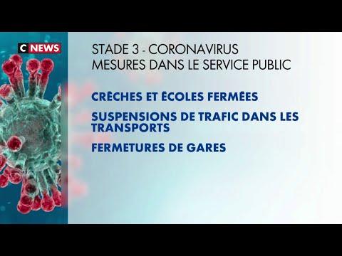 Coronavirus: tout savoir sur le «stade 3» de l'épidémie envisagé par le gouvernement