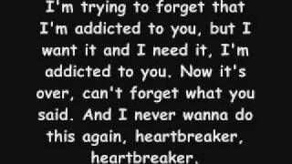 Simple Plan - Addicted (lyrics)