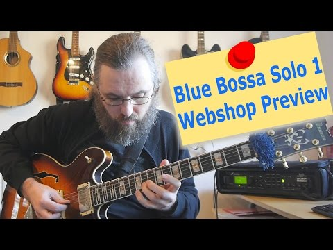 WebStore Preview - Blue Bossa Solo 1