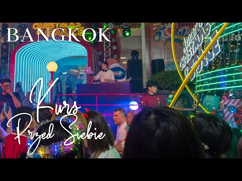 Imprezowy Sylwester 2020 W Bangkoku. New Year's Eve 2020 Party In Bangkok. Thailand.