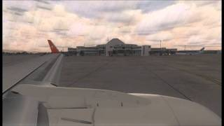 [FSX] Turkish Airlines Takeoff From Antalya Airport(A Turkish Airlines Boeing 737-800 is taking off from Antalya in a rainy morning. This video contains the new livery of the Turkish Airlines. Hope you enjoy it :) Pls ..., 2011-06-22T15:42:10.000Z)