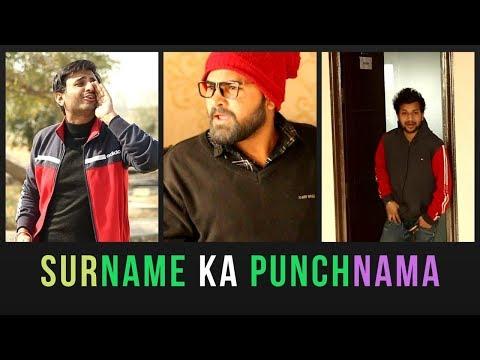 Surname Ka Punchnama    Rj Rahul Jain Ft. Fugly Club