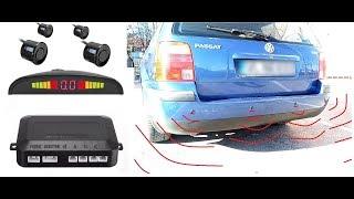 Parking Sensor System Under $12 / How to Install Rear Parking Sensor