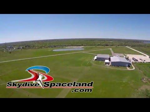 Skydive Spaceland Houston - Aerial Dropzone Tour