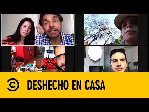 La Familia de Eugenio Derbez en Cuarentena | DesHecho En Casa | Comedy Central LA