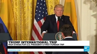 Trump Foreign Trip: