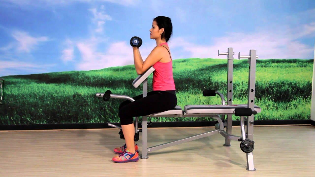 ejercicios con banco multifuncion