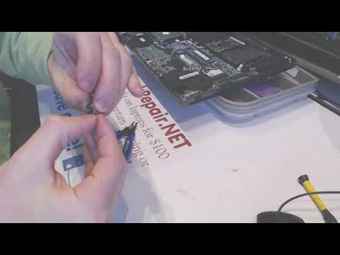 acer m5 series zrq m5-583p-5809 Laptop dc power jack repair fix problems broken dc socket input port