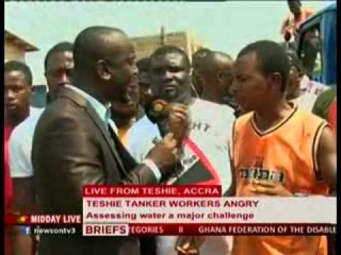 Midday Live - Tanker Operators up in arms with Ghana Water Company - 5/12/2013