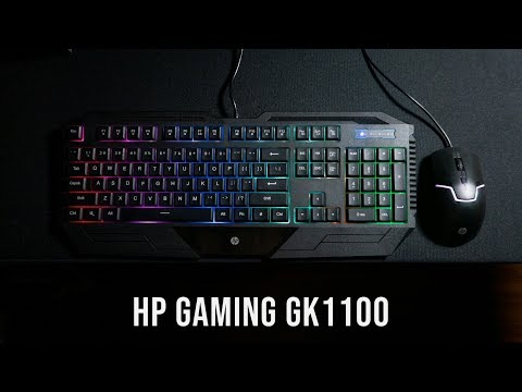 HP Gaming GK1100 Review | Entry-level Gaming Keyboard Mouse Combo
