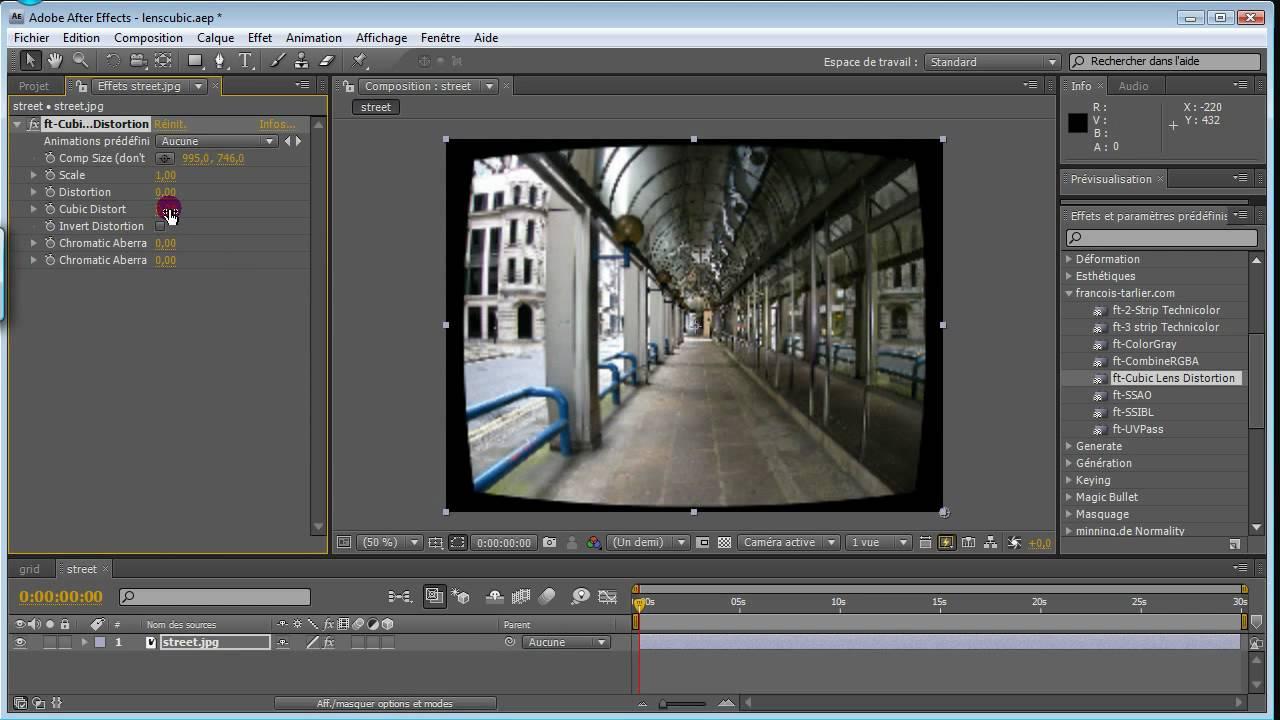 ft-Lens Distortion - aescripts + aeplugins - aescripts com