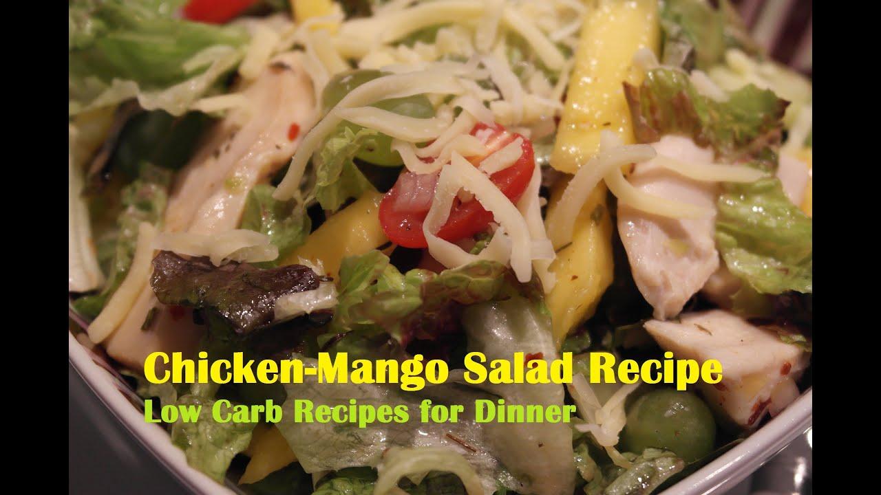low carb recipes sparky s chicken mango salad recipe. Black Bedroom Furniture Sets. Home Design Ideas