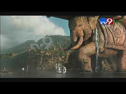 Baahubali 2 trailer @ Pre Release Function - TV9