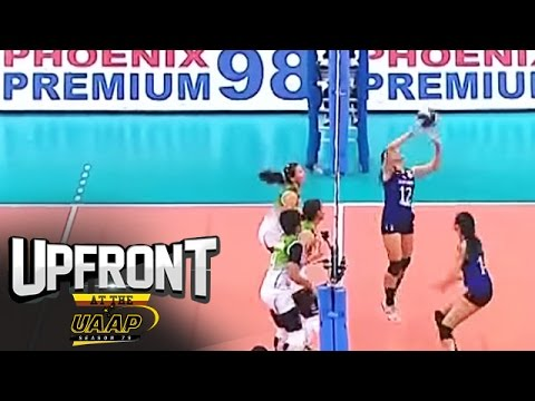 Morado's reverse drop   Top Plays   Upfront at the UAAP