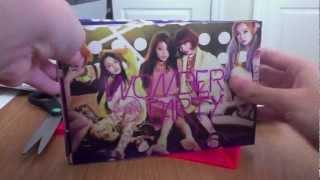 Wonder Girls & T-ARA Album Unboxing Mp3