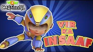 Vir The Robot Boy | Vir Ka Insaaf Movie | Action Cartoons for Kids | 3D Cartoons
