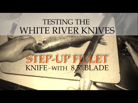 White River Knife & Tool WRSUF6-MIC 6'' Step-Up Fillet Knife video_2
