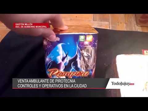Advierten sobre la venta de pirotecnia en la vía pública: decomisarán mercadería ilegal