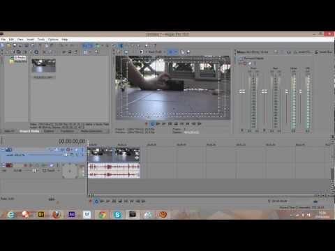 GUIDA - come tagliare i video con sony vegas