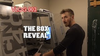 vlog 002 box reveal collaborations q answers and fan mail