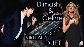 Download My Heart Will Go On - Dimash & Celine [виртуальный дуэт + трио Селин] Димаш Кудайберген и Селин Дион Mp3 and Videos
