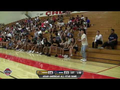 NorCal Asian-American All-Star Game Seniors vs Undergrads 6/22/17 LIVE