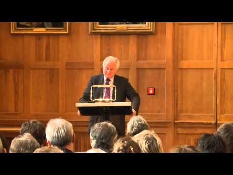 THE MacDERMOTT LECTURE 2013