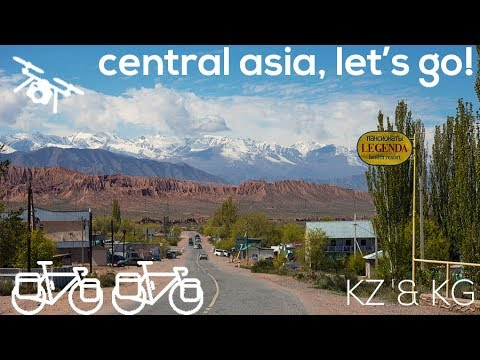 Into Central Asia - Bicycle Touring in Kazakhstan and Kyrgyzstan - The ONION Adventure
