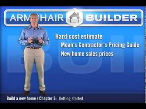 Estimating your new home cost youtube for New house cost estimator