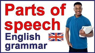 Parts Of Speech With Examples | English Grammar