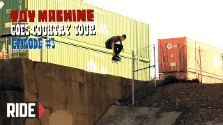 Toy Machine Goes Country with Leo Romero, Collin Provost, Daniel Lutheran and More!  Episode 3