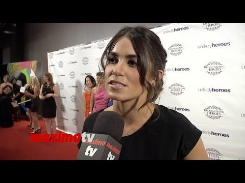 Nikki Reed INTERVIEW Recognizing Heroes Awards Dinner & Gala - Red Carpet Video