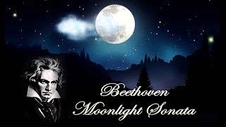 Moonlight sonata - Ludwig van Beethoven - Лунная соната - Людвиг ван Бетховен (Landscape in HD)
