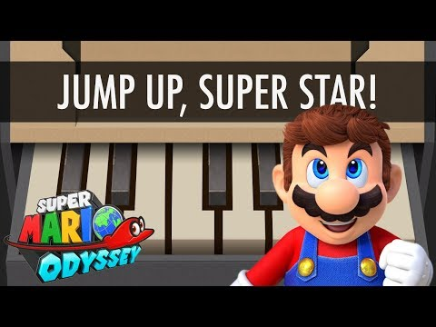 NINTENDO LABO Piano Music - Super Mario Odyssey (Jump Up Super Star!)