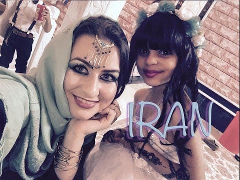 Украинка в Иране.