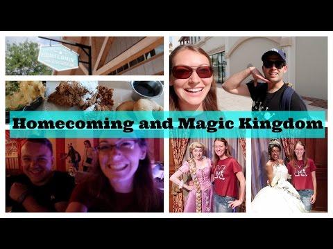 Dinner at Homecoming and an Evening at Magic Kingdom  l  Disney CRP