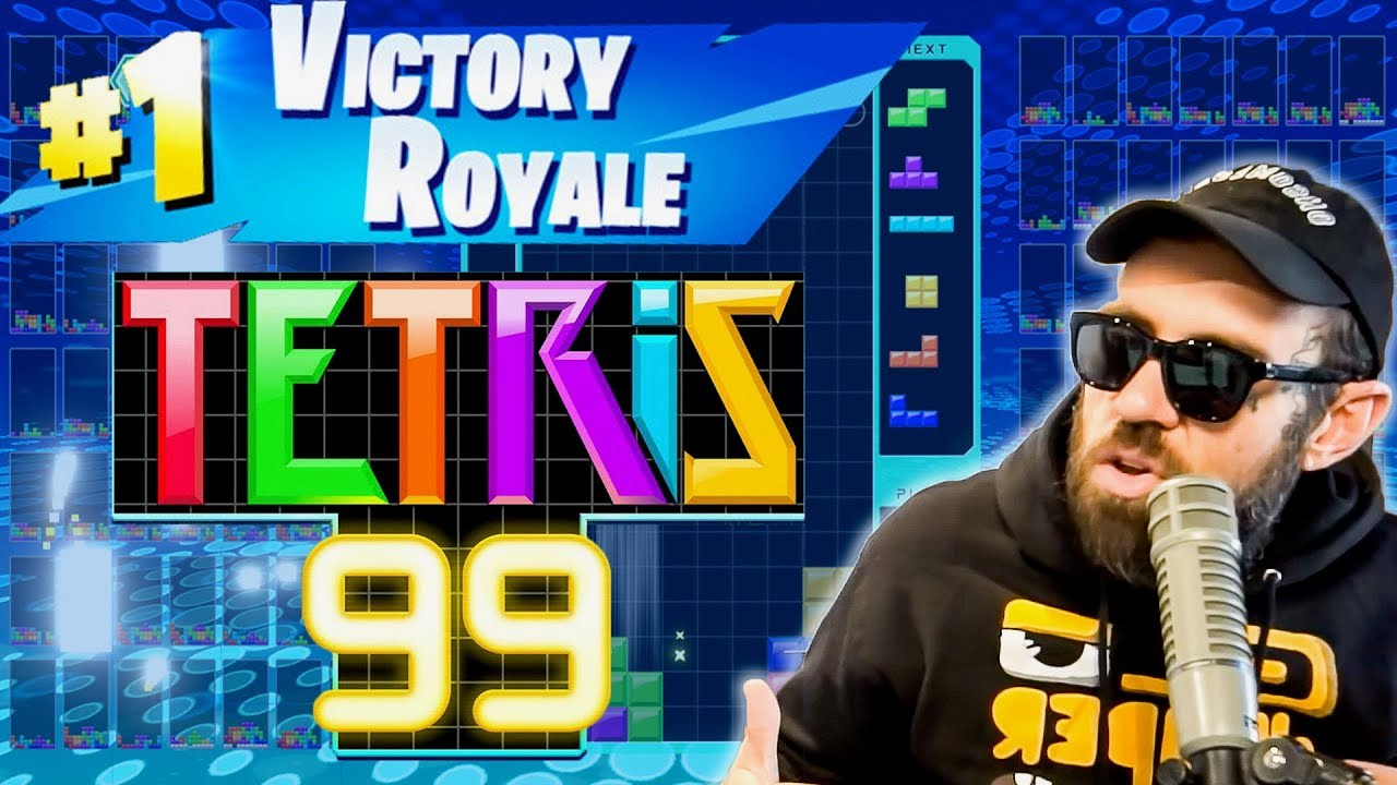 TETRIS 99 BATTLE ROYALE WIN BY ADAM22
