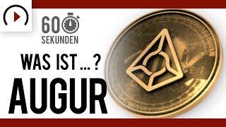 Was ist Augur? (REP) ⏳ In 60 Sekunden - Vlogchain - Video. Blockchain. News.