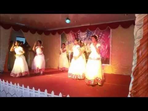 Grace college of pharmacy, palakkad (vandemathram dance)