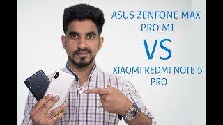 ASUS Zenfone Max Pro M1 vs Xiaomi Redmi Note 5 Pro: Comparison overview