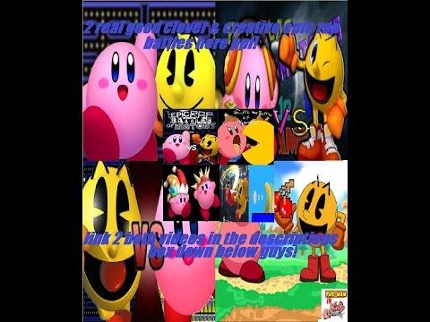 Reactions to Kirby vs pac man rap battle vs series review segment!