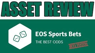 Asset Review: EOS Sports Bets