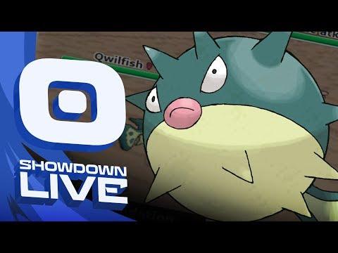 """QWILFISH WITH THE JABS"" Pokemon Ultra Sun & Moon! OU Showdown Live w/PokeaimMD"